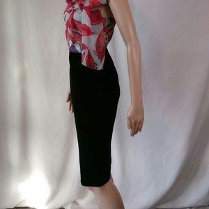 NWT Vince Camuto velvet skirt